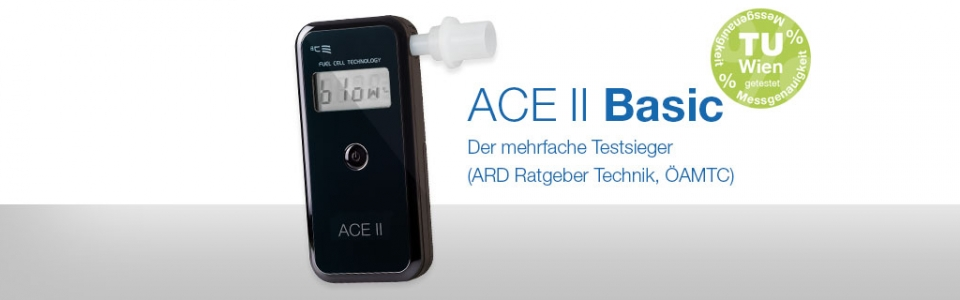 Alkomat Testsieger ACE II basic