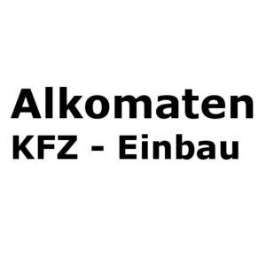 Alkomaten KFZ-Einbau