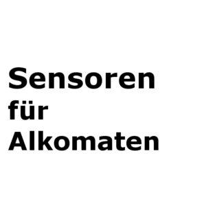 Sensormodule für Alkomaten